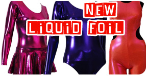 metallic leotards
